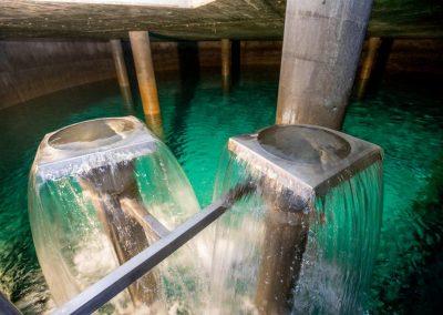 Wasserzulauf Bodenseewasser und Neckarquelle