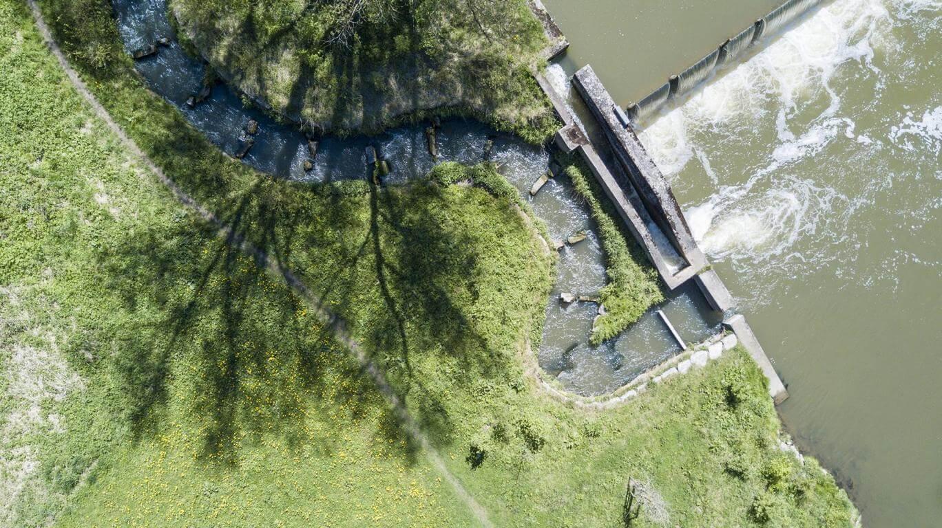 Zweckverband Wasserversorgung oberer Neckar - Fischtreppe Neckarburg