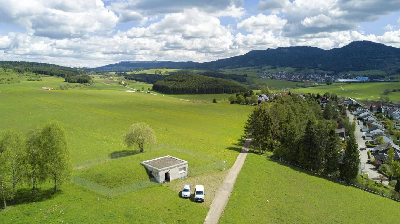 Zweckverband Wasserversorgung oberer Neckar - Hochbehälter in Wellendingen