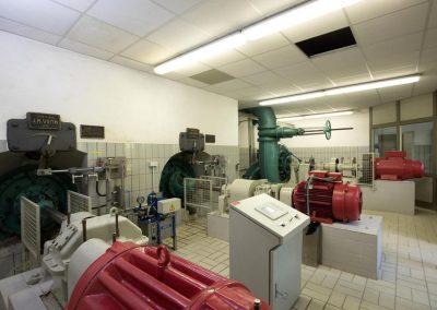 Wasserkraftwerk zur Stromgewinnung
