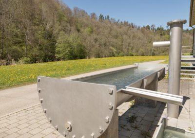 Trinkwasserbrunnen für Radfahrer und Wanderer